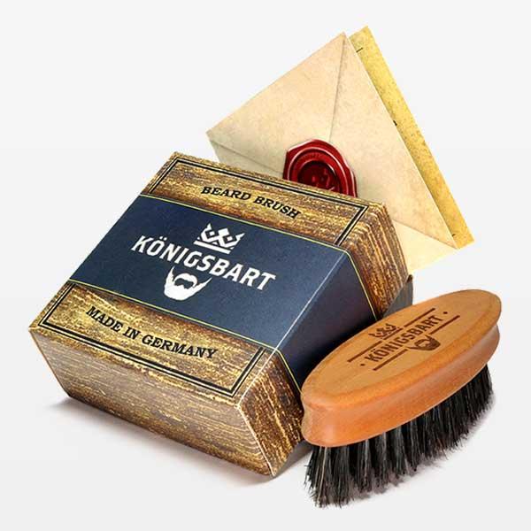Königsbart Bartbürste